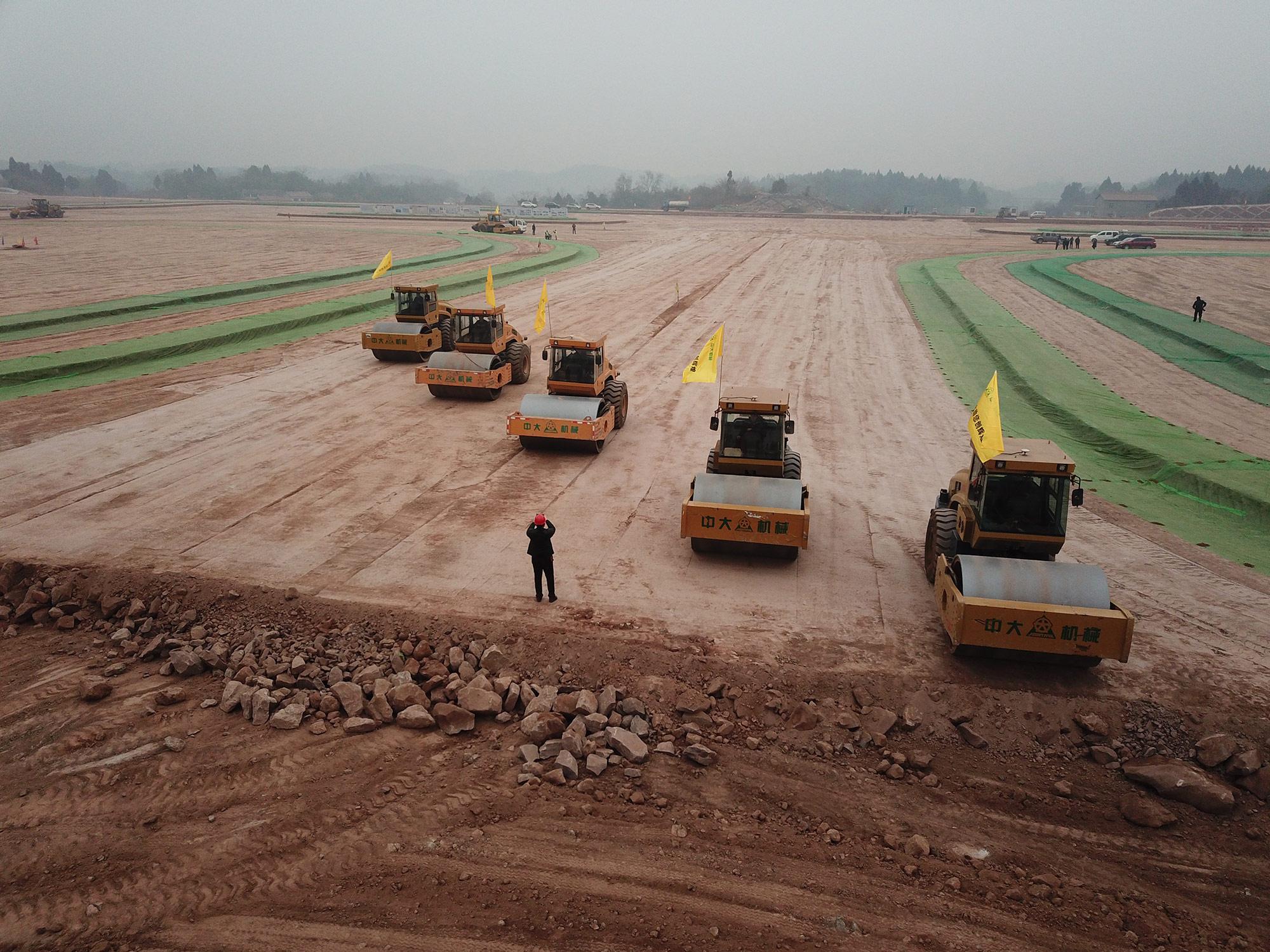 陕西科技助建成都天府机场