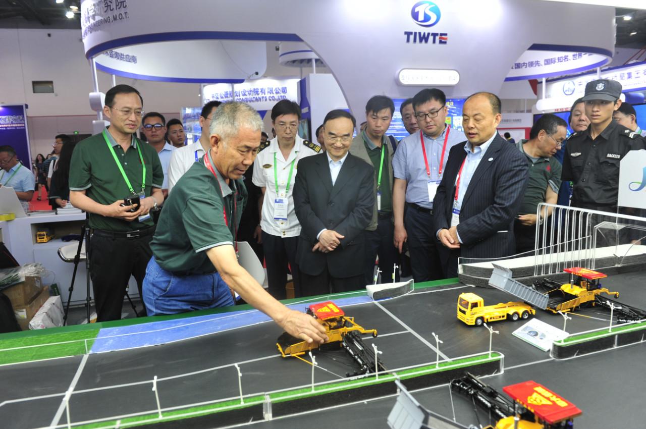 陕西中大机械集团参加世界交通运输大会亮点纷呈
