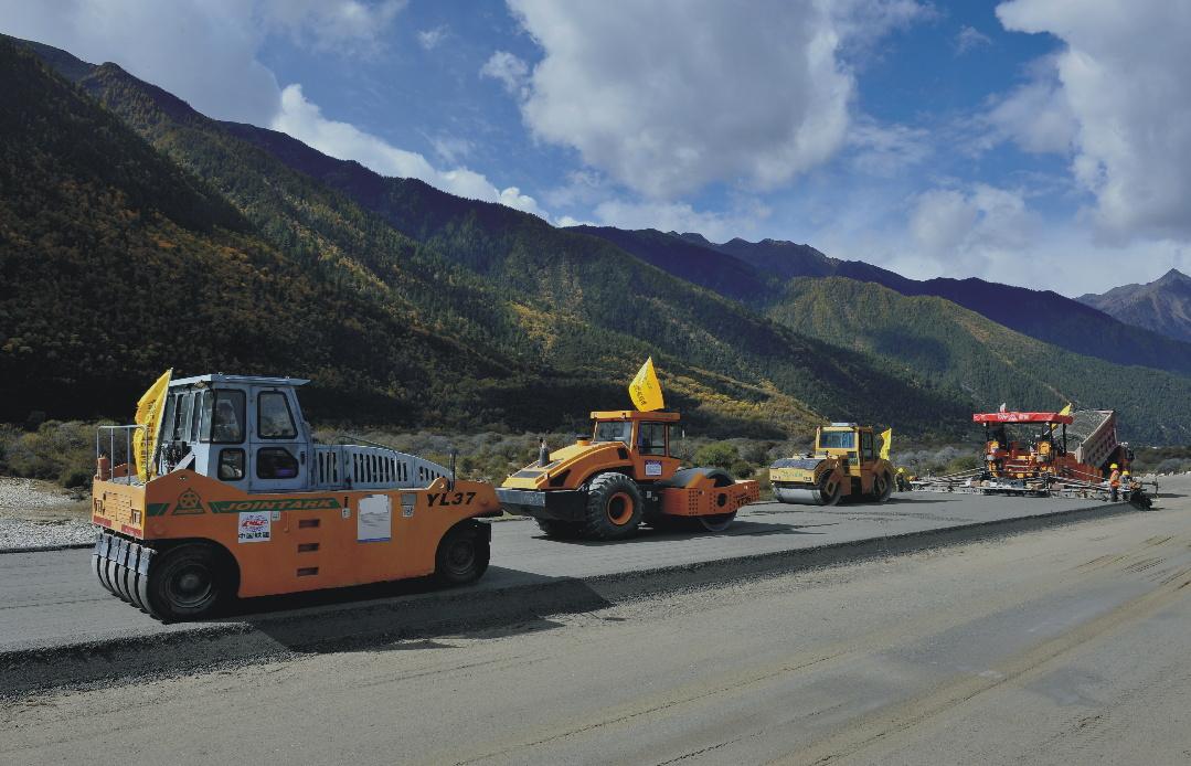 西藏林拉高速公路