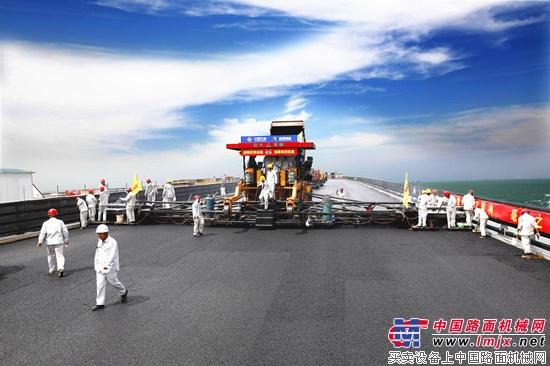 港珠澳大桥岛隧工程进入决战时刻 中大机械保驾护航